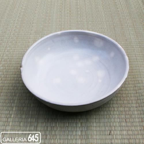 粉引尺盛鉢:川口武亮:027027