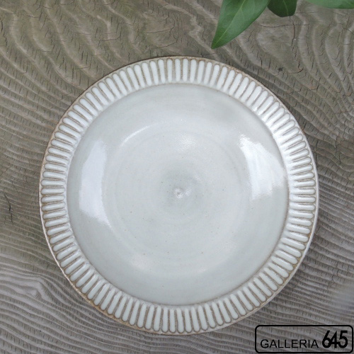 7寸皿(しのぎ):ポープ奈美:066136