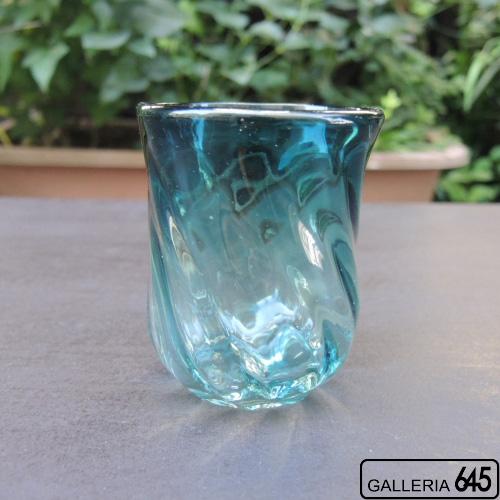 モールグラス(濃いピーコック):Glass Studio尋:085005