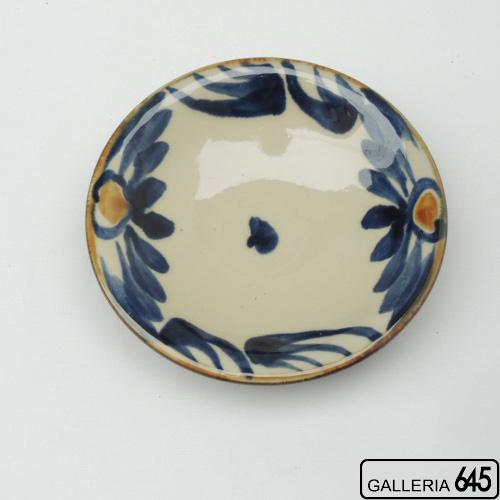 4寸皿(唐草):金城定昭:087001