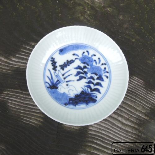 兎文鎬5寸皿:岩永 浩:002017