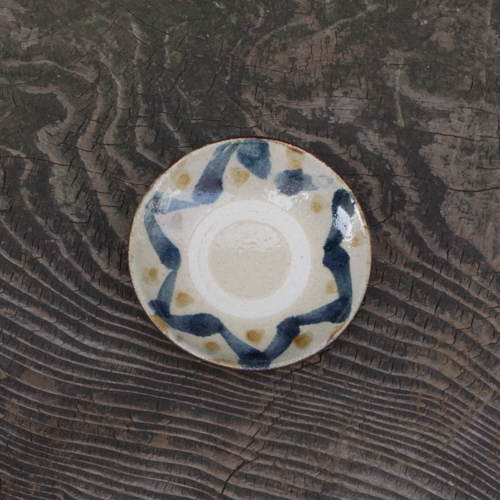 4寸皿:松田共司 :014004-1