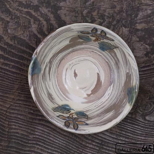 6寸鉢-(花):上江洲史朗:016010-1