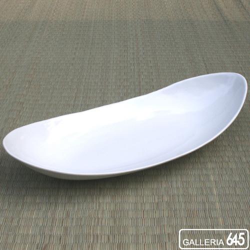 楕円皿(小)白磁:ARITA PORCELAIN LAB   018003_1