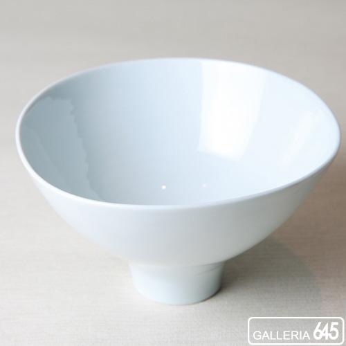 三方なぶり鉢(白磁):ARITA PORCELAIN LAB   018014_1