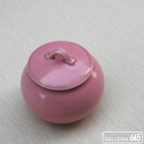 まん丸小壷(ピンク):GALLERIA 645 024003