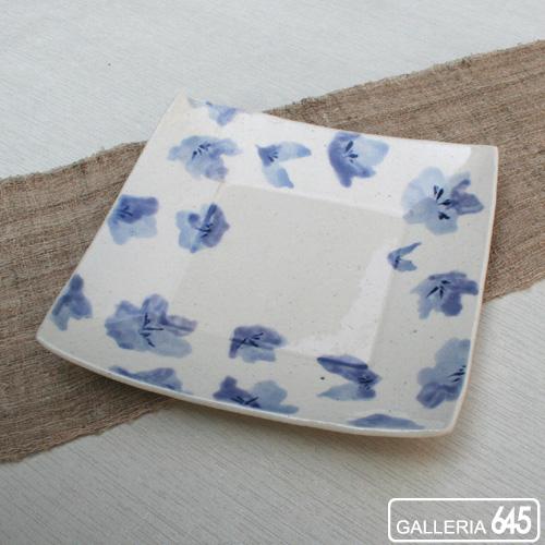 角皿 トルコ桔梗(大):GALLERIA 645 024018
