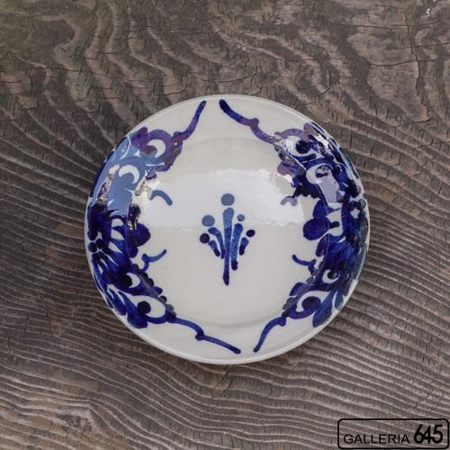 6寸皿(菊唐草):眞喜屋 修 :035033