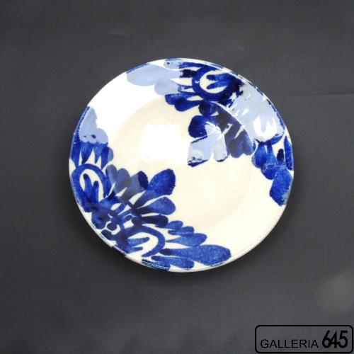 5寸皿(花唐草):眞喜屋 修 :035037
