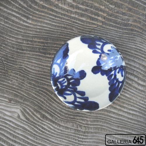 豆皿(花唐草):眞喜屋 修 :035043