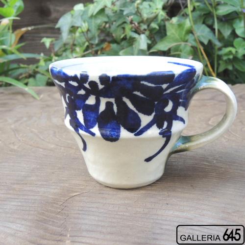 マグカップ(大)(花唐草):眞喜屋 修 :035062