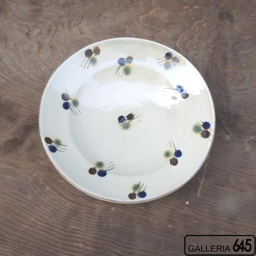 6寸皿(三彩):眞喜屋 修 :035088