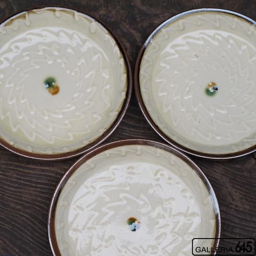 6寸平皿(イッチン):福田健治:039008
