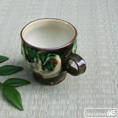 マグカップ(丸・緑):福田健治:039022