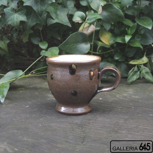 マグカップ(丸・茶):福田健治:039023