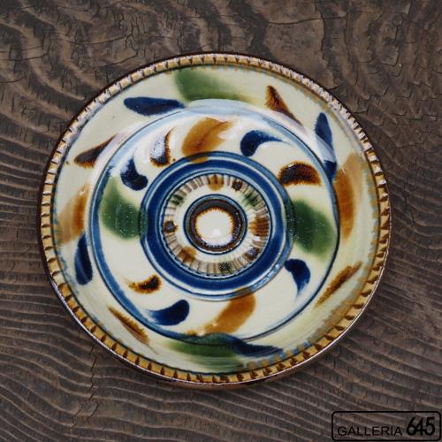 6寸平皿(カラードット):福田健治:039042