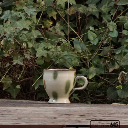 マグカップ(丸・カラードット):福田健治:039066
