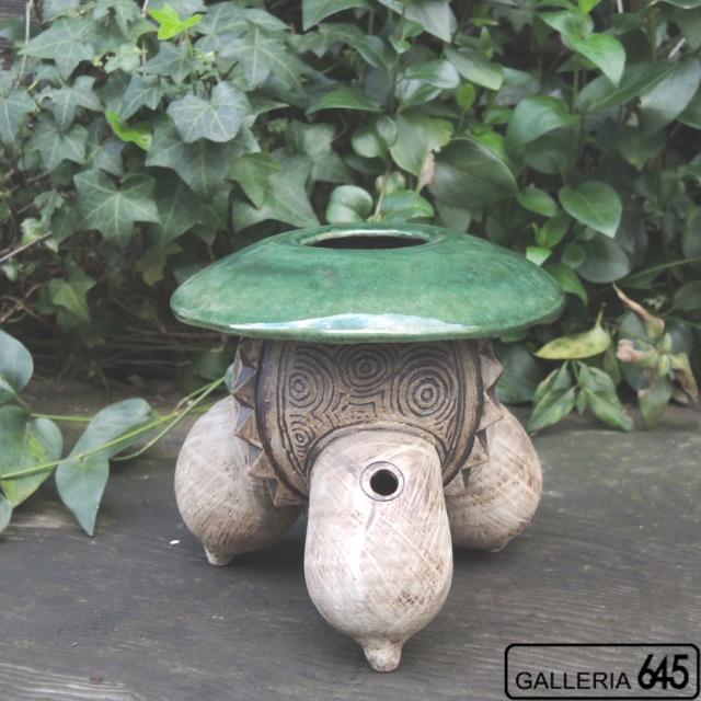 三つ足の花器(小):山田 和男:046029