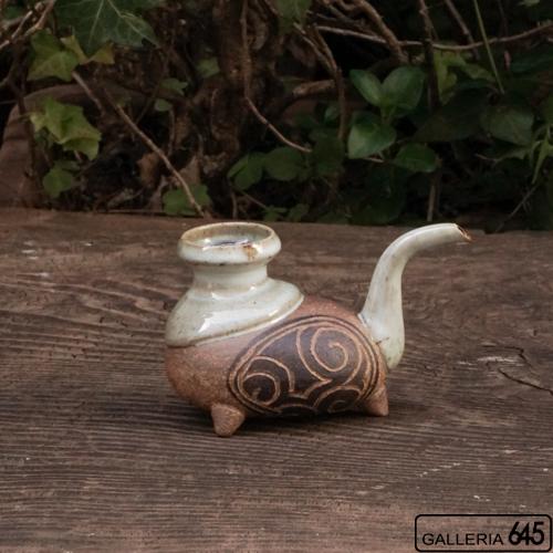 3本足のカラカラ(白)(半合):山田 和男:046037-1