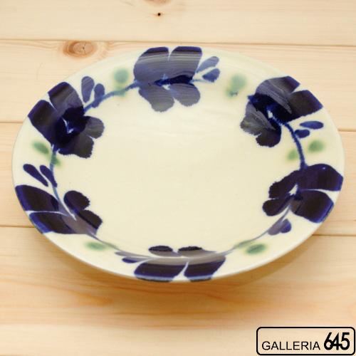 染付6寸皿:かねき陶房 菊地 穣 :054014
