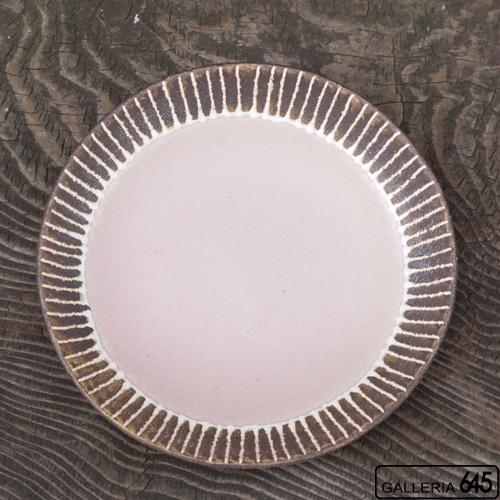 7寸皿(ピンク):安里貴美枝:081057-4