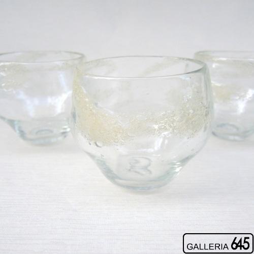泡巻丸グラス:吹きガラス工房彩砂(ルリ):086006
