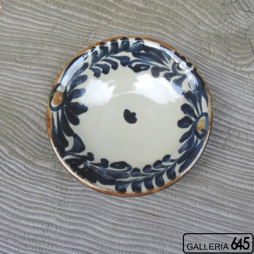 5寸皿(唐草):金城定昭:087027
