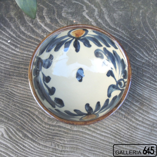 5寸鉢(唐草):金城定昭:087033