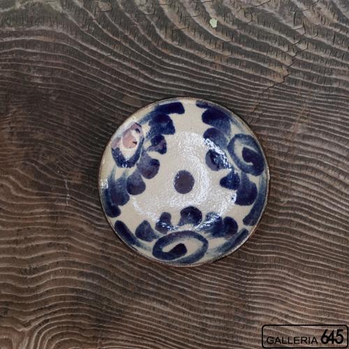 5寸皿(唐草):谷口室生:088085