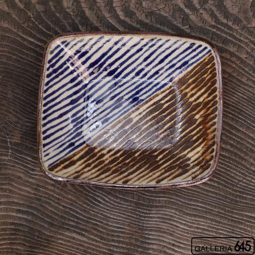 四角深鉢(斜め):谷口室生:088098