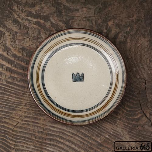 5寸皿(クラウン):谷口室生:088116