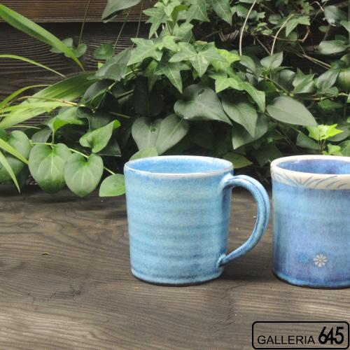 イズブルーマグカップ(青):天野雅夫:099001