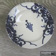 8寸皿(菊唐草):眞喜屋 修 :035082