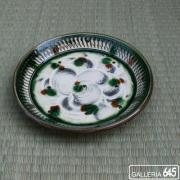 6寸平皿(緑):福田健治:039004