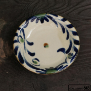 5寸皿(唐草):福田健治:039215