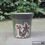 オリベ釉 アワモリカップ:山田 和男:046010