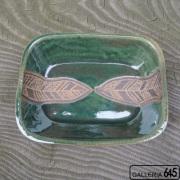 長方角鉢(彫り) :山田 和男:046016