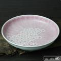 6寸深皿マロン濃色桜:津上是隆:015030