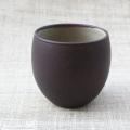 湯呑(茶釉):小野鉄兵:023049