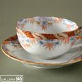 色絵竹文紅茶碗皿:有田製窯【送料無料】:030007