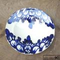 8寸皿(花唐草):眞喜屋 修 :035080