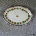 たまご型皿(点打ち):福田健治:039144