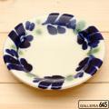 染付4寸皿:かねき陶房 菊地 穣 :054015