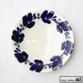 染付8寸皿:かねき陶房 菊地 穣 :054021
