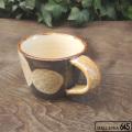 マグ(小)茶レンコン:工房いろは:055046-5