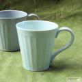 しのぎコーヒー碗(青):天田 毅 :062003