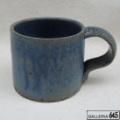 ルリマット釉マグカップ:岡山富男:065004