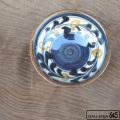 4寸鉢(巻唐草):金城定昭:087004