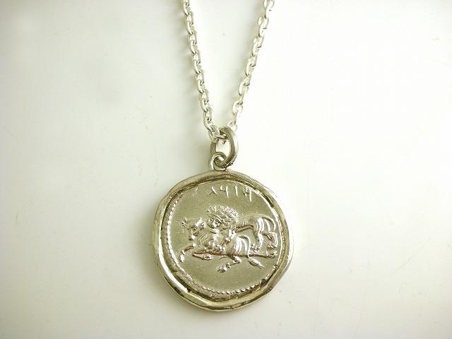 ギリシャコイン ネックレス