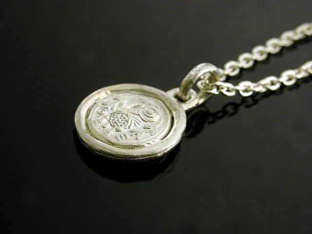 シルバーアクセサリー通販 メンズ/古代コインネックレス